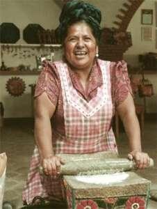 Cocinera Abigail Mendoza
