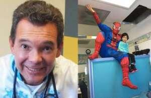 Dr Gallegos súper héroe