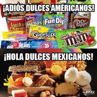 dejar de consumir productos gringos