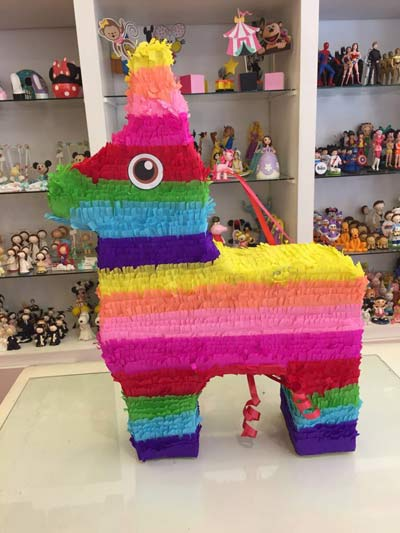 piñata burro mexicano