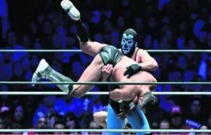 lucha libre México ring
